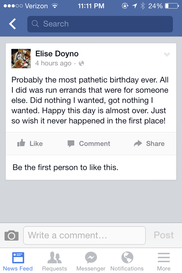 Unhappy Birthday   DigiDame
